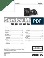 9780 Philips FWM462!55!77-BK Ver 1.0 Sistema Audio Mini-Hi-Fi Manual de Servicio