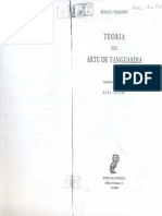 Teoría Del Arte de Vanguardia - Renato Poggioli