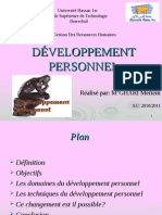 Developement Personnel
