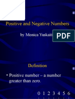 001 Directed Numbers