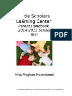 parent handbook  1