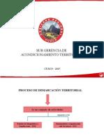 exposicion de proceso territorial