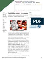 Composição Química Das Gorduras