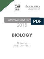Edun Notes Biology October 2015