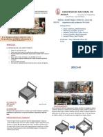 Diptico - Movil Adaptable Para El Uso de Recicladores