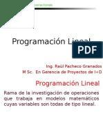 Programacion Lineal- Método Simplex
