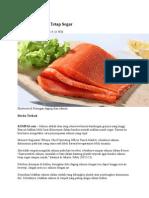 Menjaga Salmon Tetap Segar