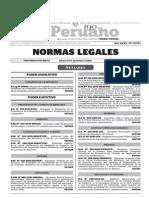 Normas Legales, viernes 27 de noviembre del 2015
