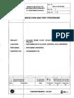 Site Inspection Test Procedure (ITP)