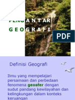 Copy of Pengantar Geografi