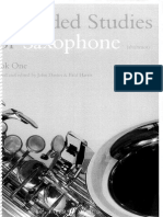 80 Graded Studies for Saxophone Bk 1