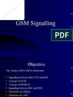 GSM Signalling concepts