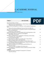 Sunway Academic Journal Vol 2 Information