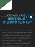 interpretaion e integracion segun grey