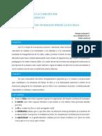 Proceso de visualización de la escuela GUINAND-PÉREZ-SANDOVAL