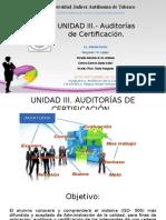 UNIDAD III Auditoria