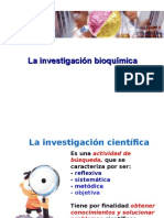 La Investigación Bioquímica