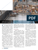 Understanding Integral Waterproofing