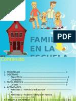 """Cartilla """"Familias en la escuela"""""""