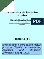 Doctrina de Los Actos Propios-2013