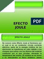 Efecto Joule.