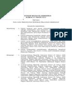 Perwali No 53 Th 2012 Revisi2_perwali Ret. Layanan Kesehatan