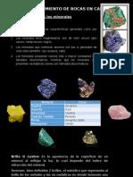 Expo de Agua Subterranea y Reconocimiento de Rocas