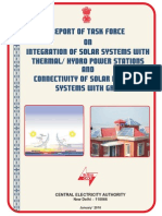 CEA Task Force Report on Grid Interactive Solar PV_Jan'10