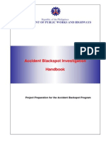 Accident Blackspot Investigation Handbook