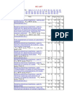 IEC LIST1