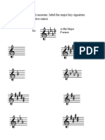 key signature test