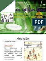 Control de Calidad Medicion 2015