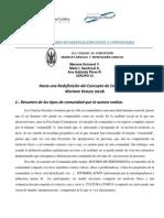 Análisis de la lectura M. Krause y su aplicación a los Centros Concepcionistas