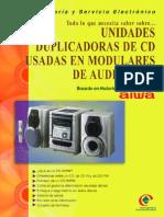Unidades Duplicadoras de CD