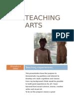 Interest Letter - Teaching Arts.
