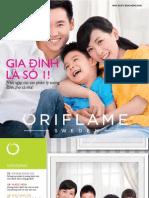 Catalogue My Pham Oriflame 6-2015