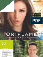 Catalogue My Pham Oriflame 9-2015