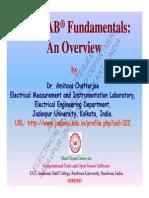 MATLAB Fundamentals-An Overview UGC ASC Burdwan Univ Sept2013