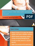 Kwort Linux 4.3 Version