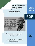 ARPD 2015-16 - Course Details