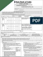 SBI Clerk Vacancies 2015 16