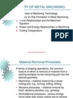 Machining Theory