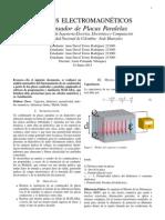 Programa condensador de placas paralelas