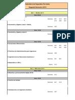 CalendarioTENTATIVO-2sem 2dosParciales 2015