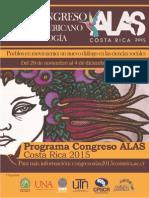 Programa Congreso ALAS Costa Rica 2015 (Detallado)