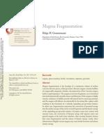 Annurev Earth Magma Fragmentation