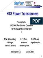 Schwenterly HTS Transformer