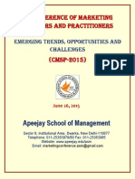 Apeejay Marketing Conference 2015