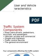 TE-Road User and Vehicle Characteristic