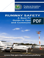 Runway Safety Best Practices Brochure
